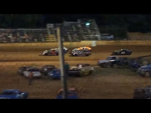 8/10/19 Stock 4 Harris Speedway