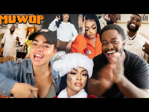 MULATTO SNAPPED!!! | Mulatto - Muwop (Official Video) ft. Gucci Mane [SIBLINGS REACTION]