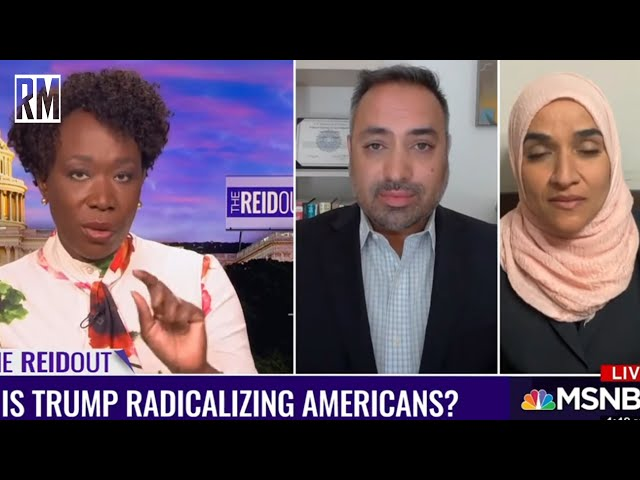 Joy Reid Still Hasn't Apologized for Her Islamophobia