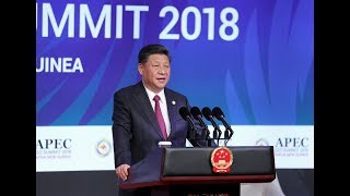 President Xi delivers keynote speech at the APEC CEO Summit | CCTV English