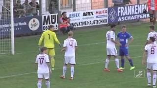 SV 01 Viktoria Aschaffenburg  - 1 .  FC Nürnberg II (Regionalliga Bayern 15/16, 32.Spieltag)
