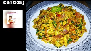 Anday Piyaz /Recipe by Roshni Cooking