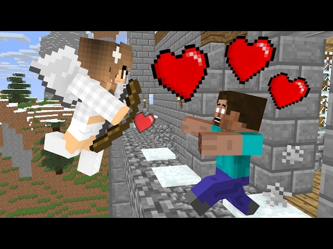 Top 3 Love Monster School - Minecraft Animation - Видео из Майнкрафт (Minecraft)