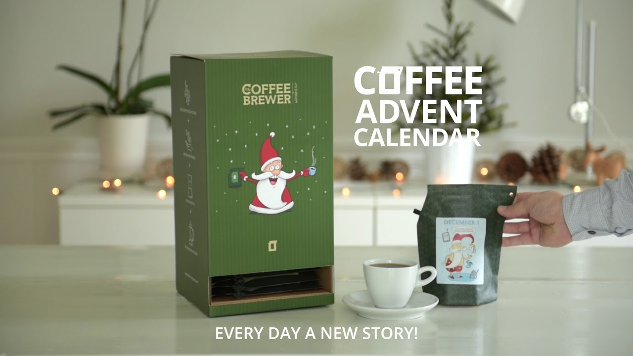 Growers Cup Coffeebrewer Advent Calendar Youtube