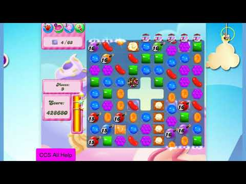 Candy Crush Saga Level 2776 NO BOOSTERS Cookie