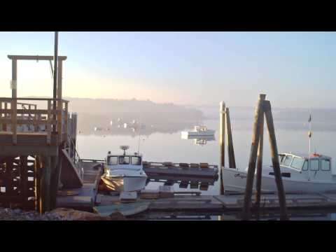 Wiscasset Maine 5th of July Harbor Scene