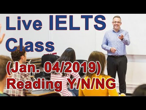 IELTS Live Class - Reading for High Bands - Strategy
