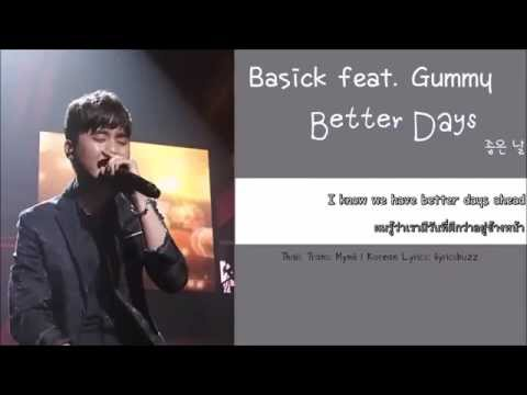 [THAISUB] SMTM4 Basick (베이식) feat. Gummy (거미) - Better Days (좋은 날)