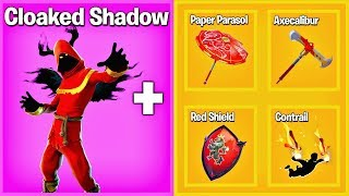 6 AMAZING SKIN COMBOS IN FORTNITE..! (Cloaked Shadow, Female DJ Yonder)