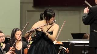 IBERT Flute Concerto, Mvt. 3: Allegro scherzando - Pauline Jung, flute, UNC Symphony Orchestra