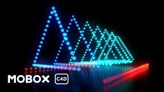 Dynamic LED Light Show - Cinema 4D Tutorial