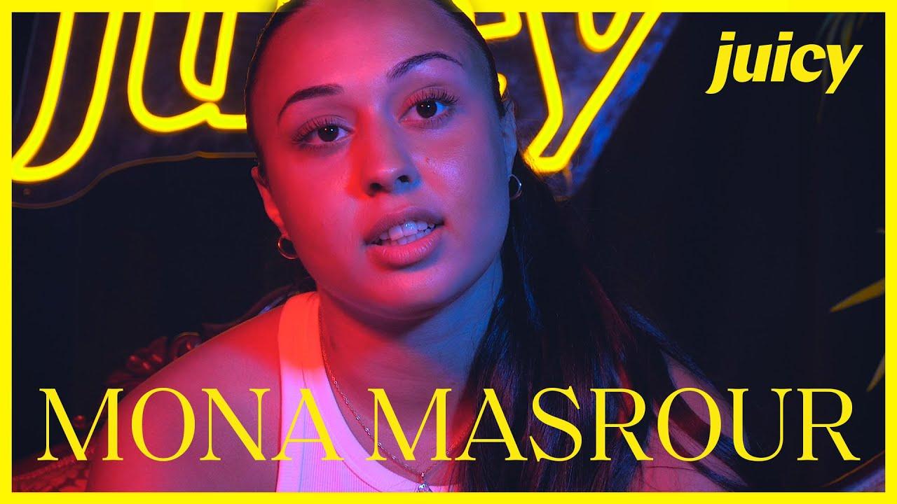 Mona Masrour läcker låtar och pratar om sin kändis crush /Q&A Juicy