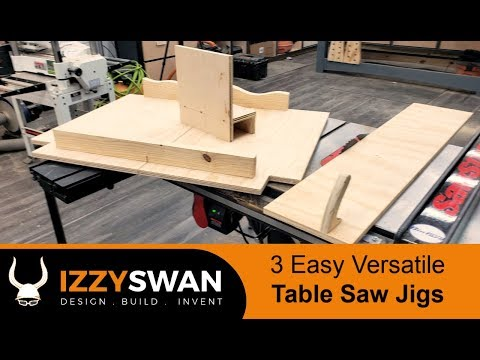 3 Easy Table Saw Jig | How To