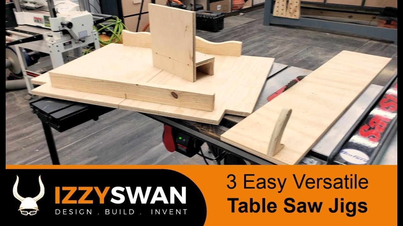 3 Easy Table Saw Jig How To Youtube