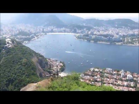 Sugar Loaf Rio de Janeiro Brazil Cable Car Part 2