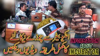 Informative about incubator chicken egg hatching (Jamshed Asmi Informative Channel) in Urdu/Hindi thumbnail