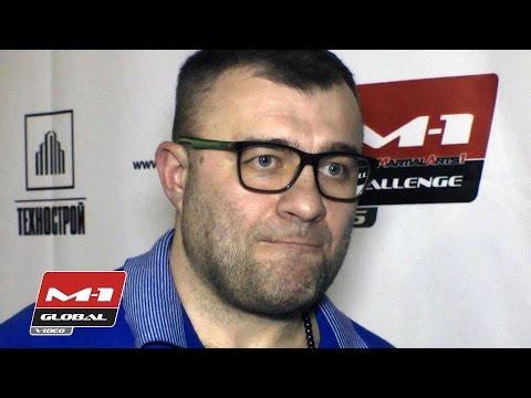 Mikhail Porechenkov - russian actor about MMA Show M-1 Challenge 56