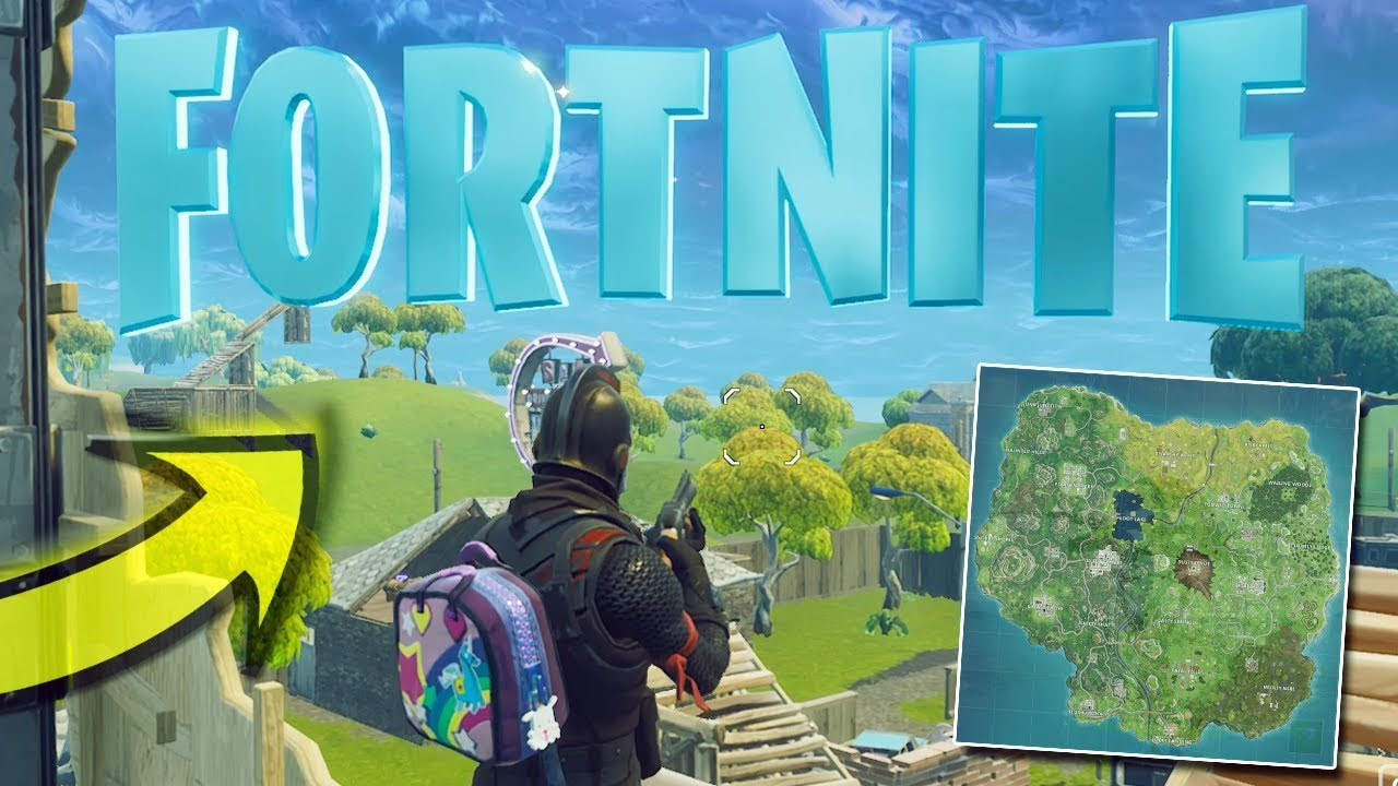 Where Are The Fortnite Letters Pc Search F O R T N I T E Letters Season 4 Battle Pass Challenge All Fortnite Letter Locations Youtube