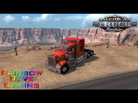 American Truck Simulator | #37 Kingman-Tucson | Technical Problems