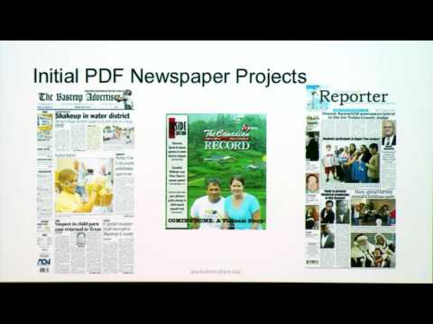 Expanding the Scale of PDF Preservation - Ana Krahmer