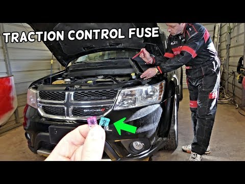 DODGE JOURNEY TRACTION CONTROL FUSE LOCATION REPLACEMENT