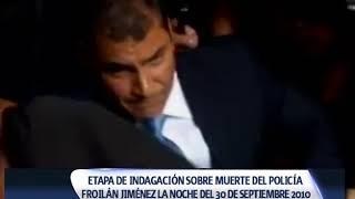INICIA INDAGACIÓN EN CASO DE LA MUERTE DEL POLICÍA FROILÁN JIMÉNEZ