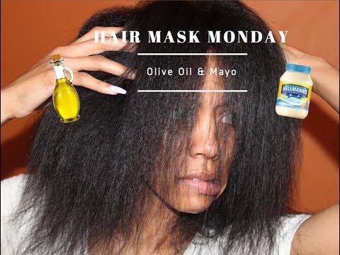 Hair Mask Monday w/ LK  |Olive Oil x Mayo|