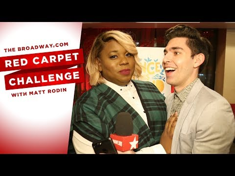 RED CARPET CHALLENGE: ONCE ON THIS ISLAND with Lea Salonga, Alex Newell, Clay Aiken and more!