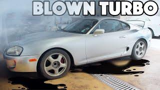 $10k Supra Rebuild EP3 - Tearing Apart the SUPRA TURBOS!