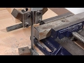 Wooden metal cutting bandsaw