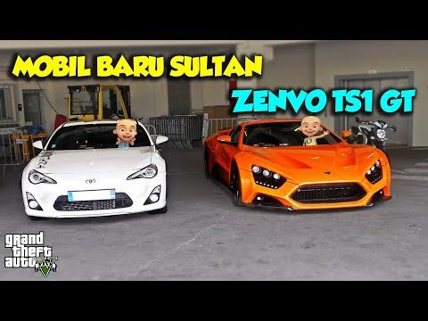 Sultan Upin punya mobil sport baru Zenvo TS1 GT – GTA V Upin Ipin Episode Spesial 46