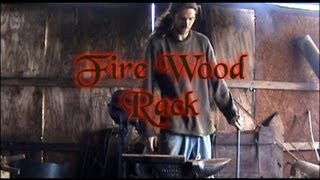 Blacksmith Forged Fire Wood Rack