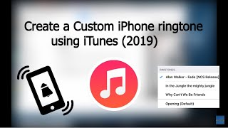 In this video,i'm showing you how can create a custom iphone ringtone using itunes.it is very easy and need couple of minutes. it step by step...