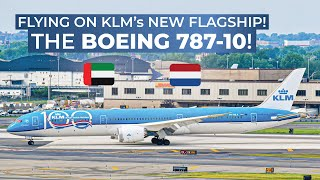 TRIPREPORT | KLM Royal Dutch Airlines (ECONOMY) | Boeing 787-10 | Dubai - Amsterdam