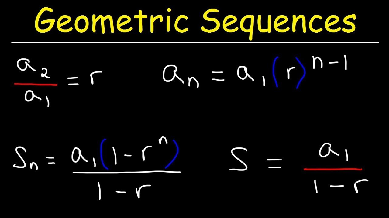 Geometric Series and Geometric Sequences - Basic Introduction