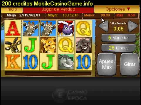 Mega Moolah Progresivo 200 creditos GRATIS a Casino epoca1440