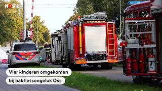 BAKFIETSONGELUK: 4 kinderen omgekomen op het spoor in Oss