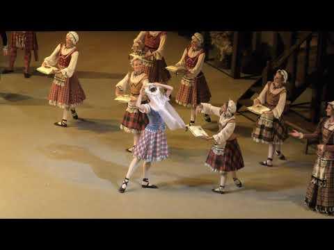 22/07/18 La Sylphide, Act I (1) Bulanova Konovalov Kolb