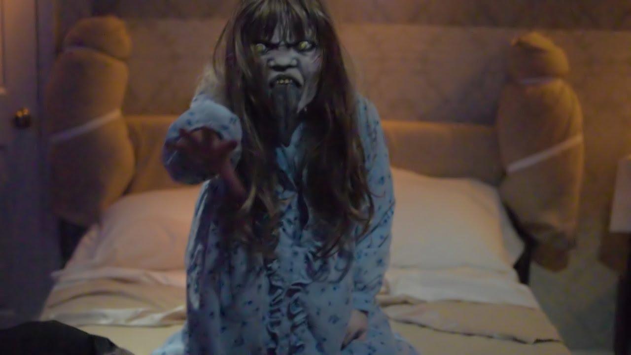 the exorcist full haunted house maze halloween horror nights 2016
