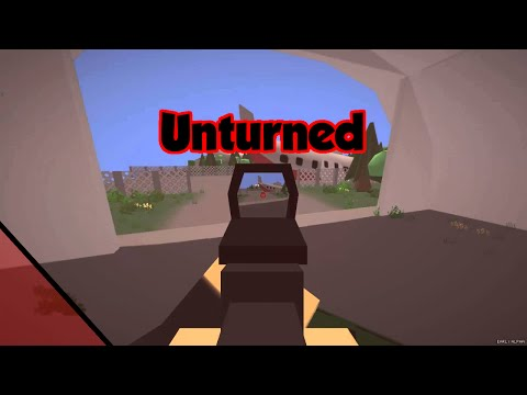 Unturned - Multiplayer Fun Military Base, Exploration, and Creation Part 1