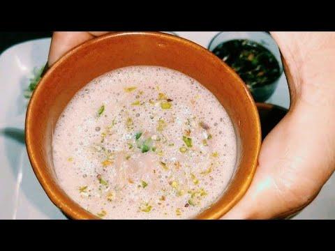 Pink Tea Kashmiri Gulabi Chaaye || Noon Chaaye Perfect Recipe