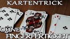 Einfacher Anfänger-Kartentrick ohne Fingerfertigkeit  - Tricks XXL