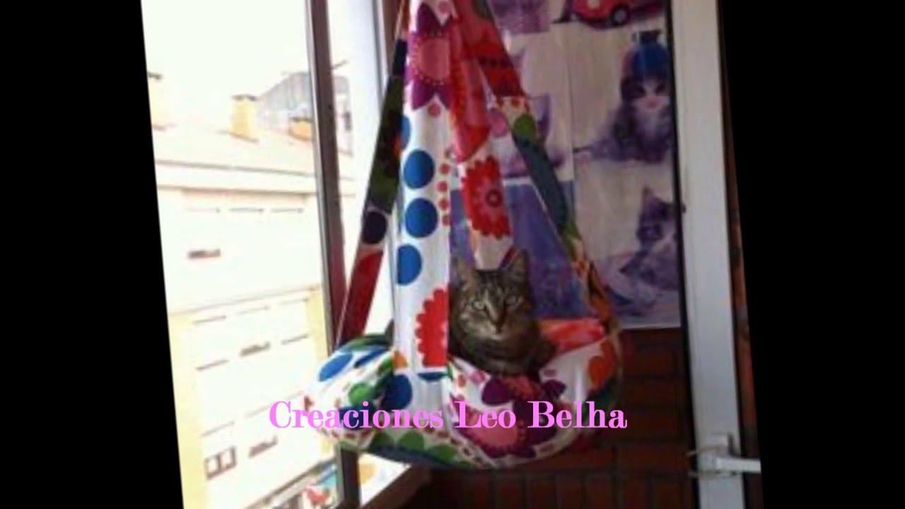 Cama hamaca para gatos youtube - Cama para gato ...