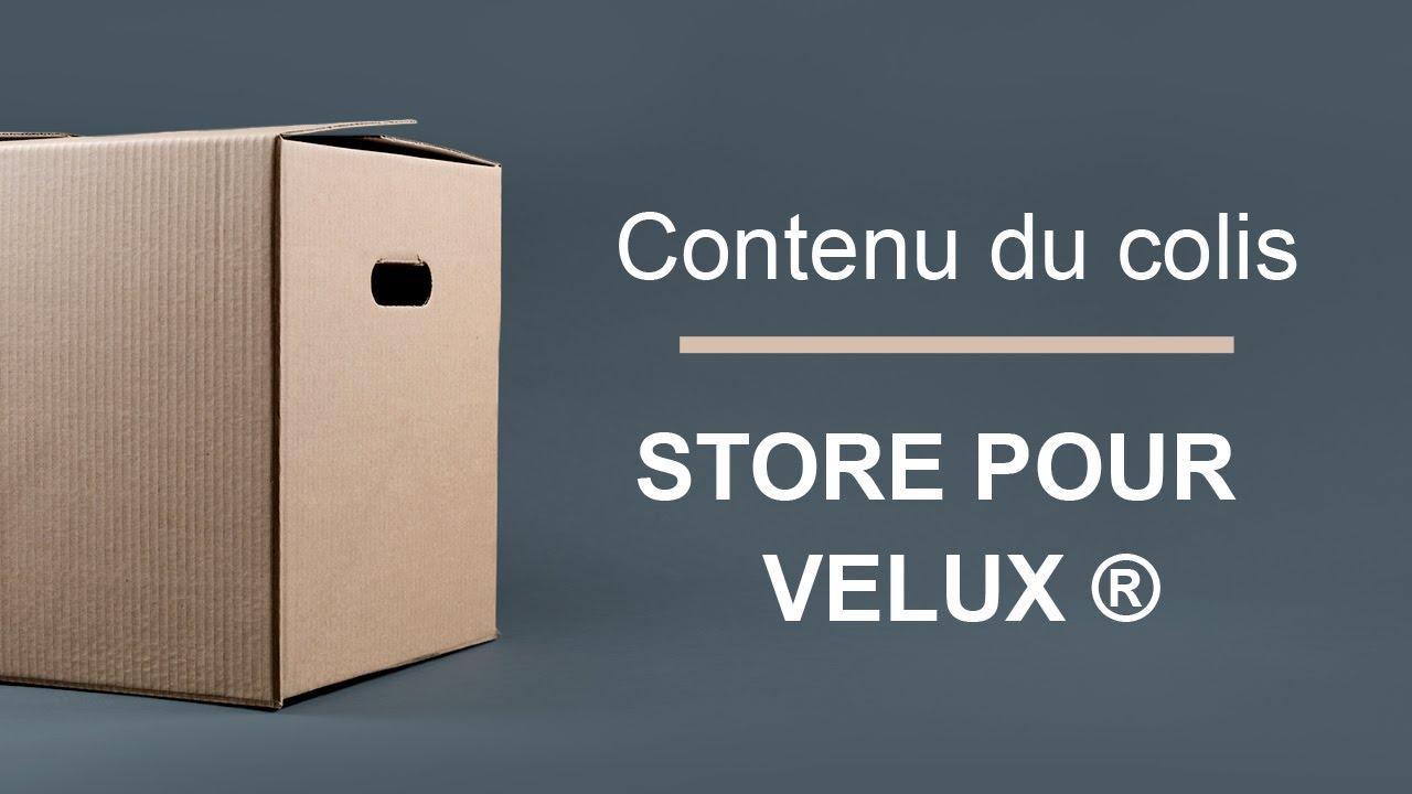 Store Velux Occultant Stores Velux Sur Mesure