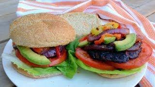 Grilled Portobello Mushroom Burger - Getfitwithleyla