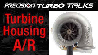 A/R Differences for PTE Turbine Housings