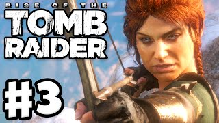 Rise of the Tomb Raider - Gameplay Walkthrough Part 3 - Glacial Cavern Ice Ship! (Xbox One)