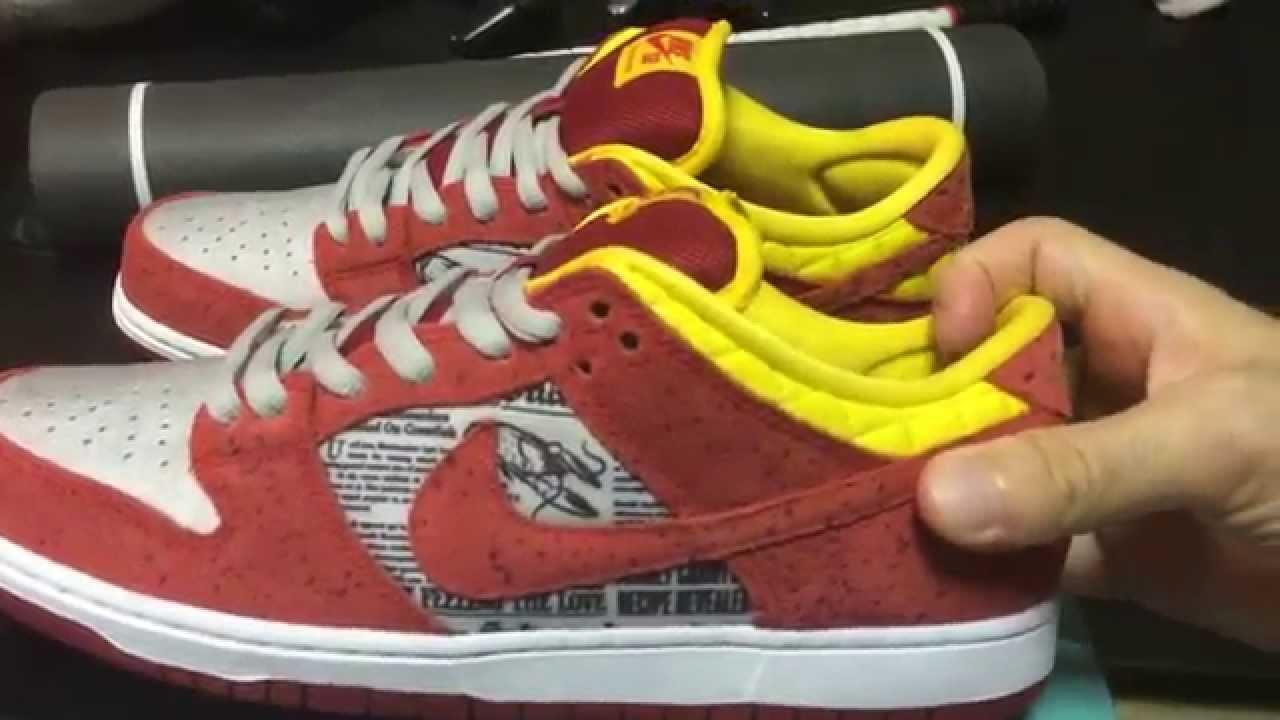 f5f829ab026119 Nike Dunk Low Premium SB QS Crawfish RUKUS Sneakers - YouTube