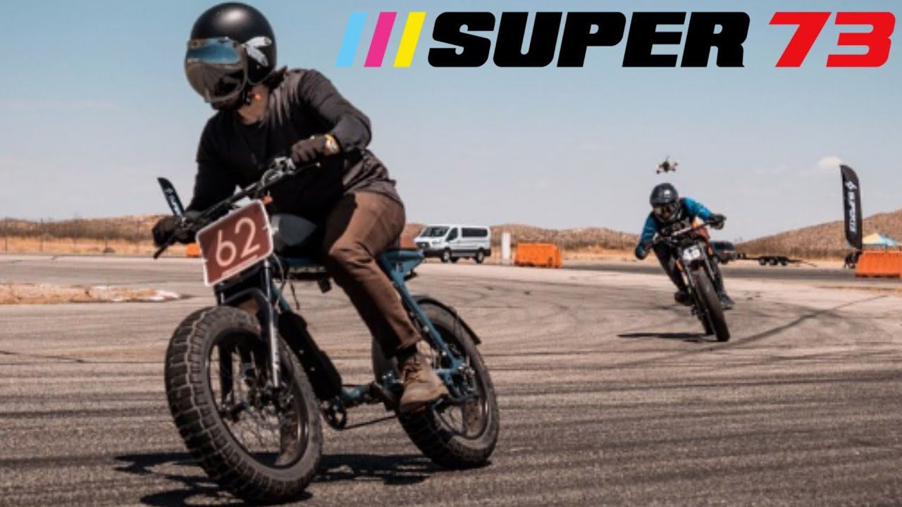 The New Fastest Man On A Super 73 | EBIKE RACE | Willow Springs