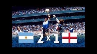 Аргентина Англия 2 1 Обзор Матча Четвертьфинал Чемпионата Мира 22 06 1986 HD
